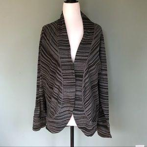 PRANA Sweater Jacket Open Front
